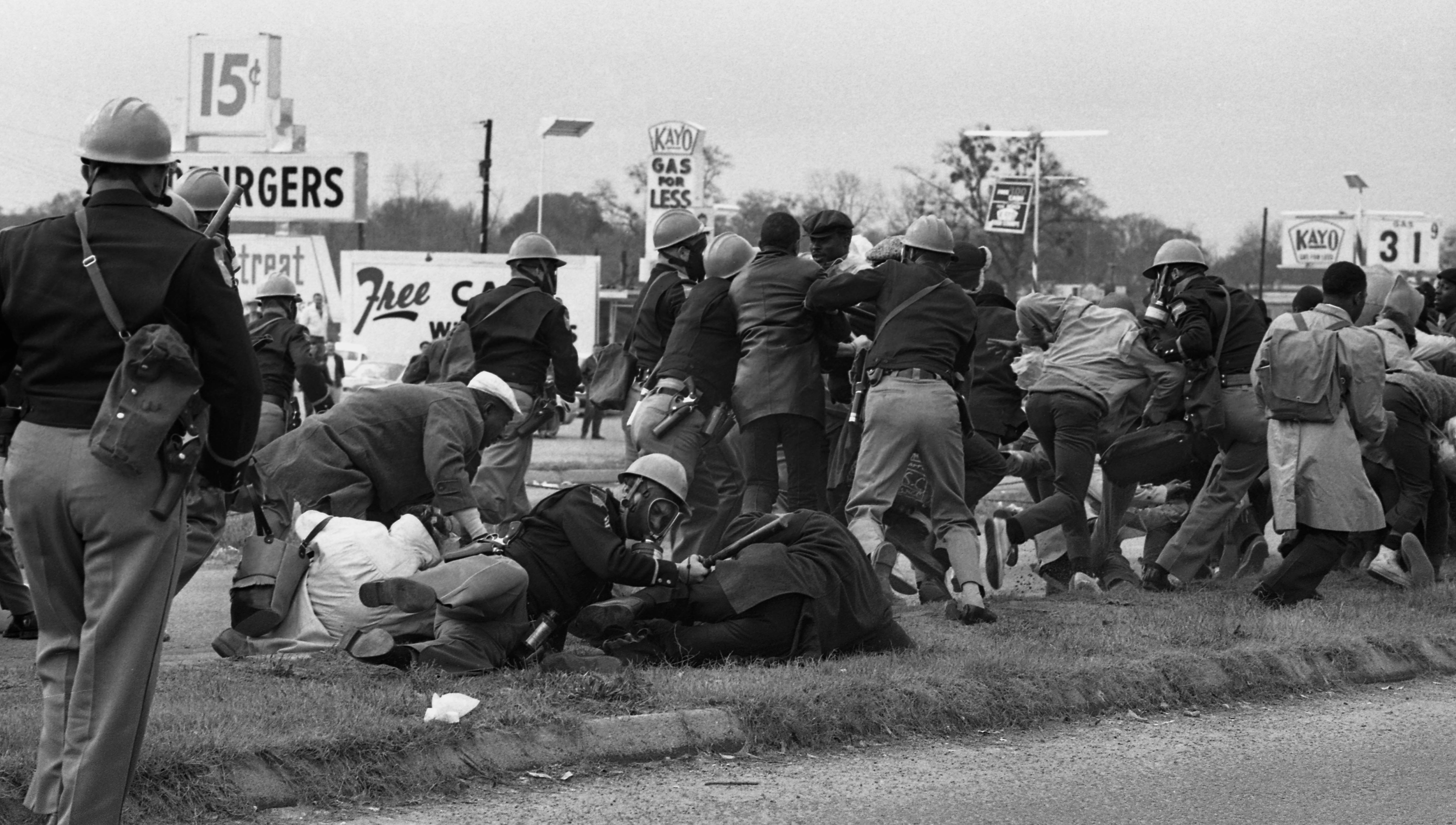 John Lewis and the Police in Selma
